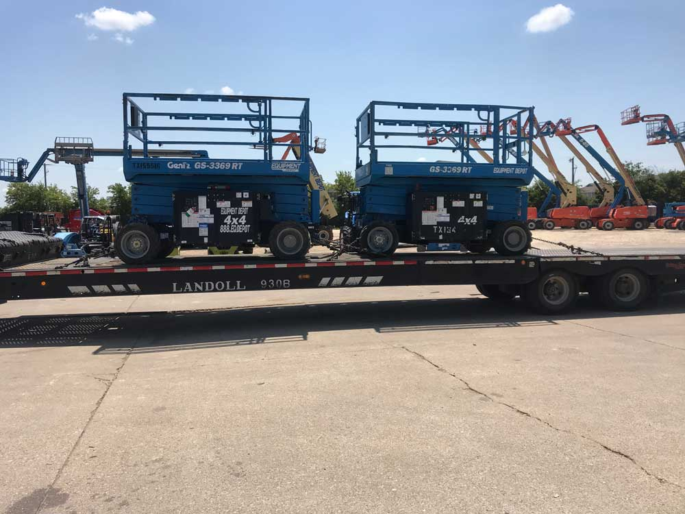 Trailer Lifts On Trailer