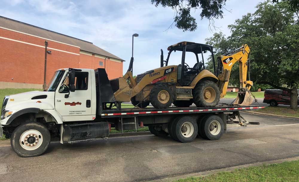 Heavy Equipment Transport Services